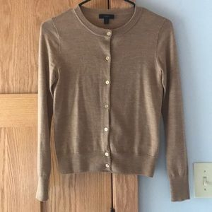 J. Crew XS button down wool sweater